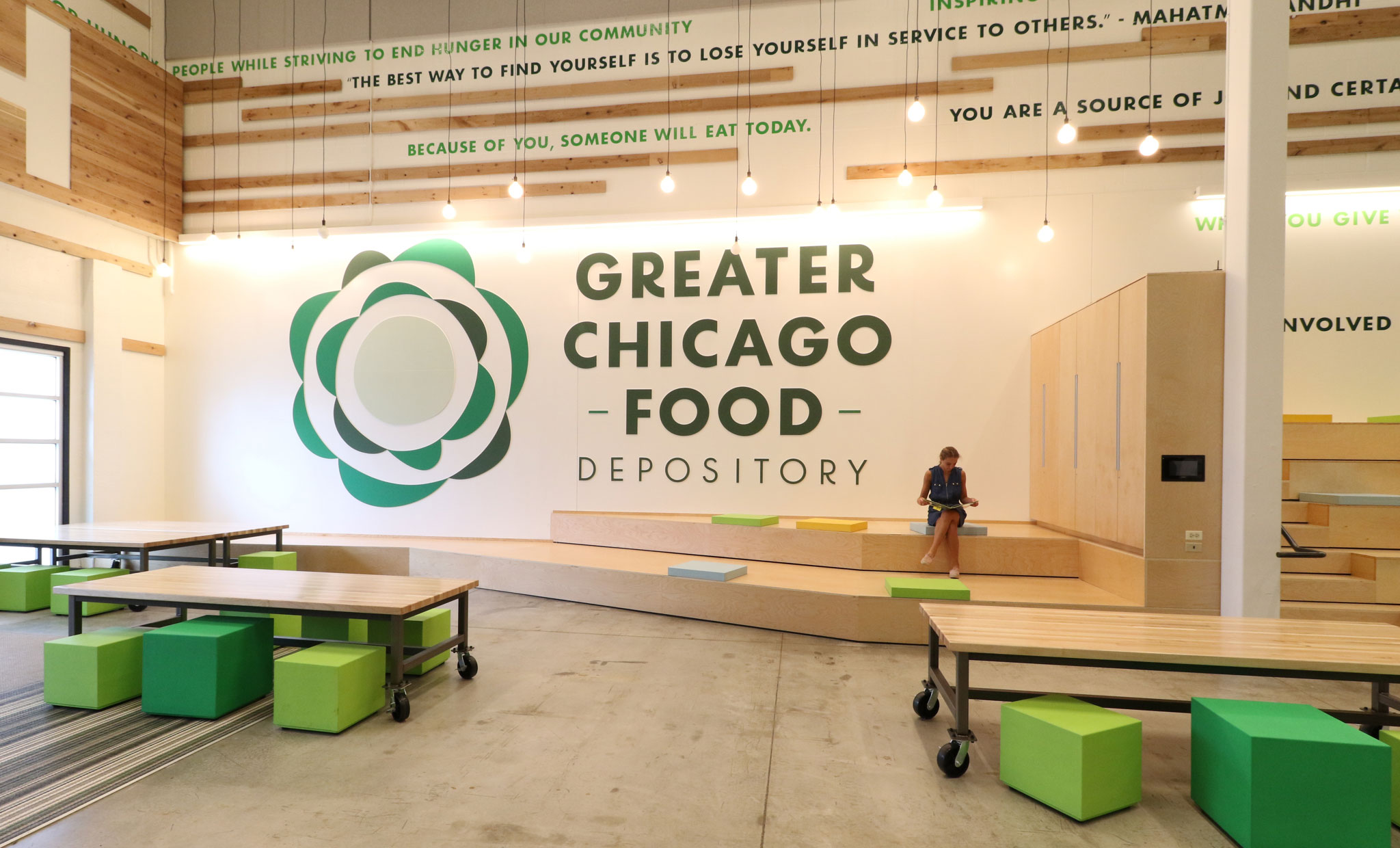 The Greater Chicago Food Depository and 88 take silver!